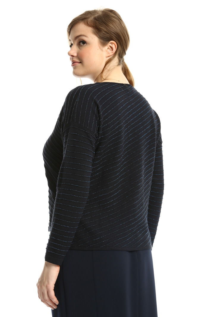 Sweater with lurex stripes  Intrend