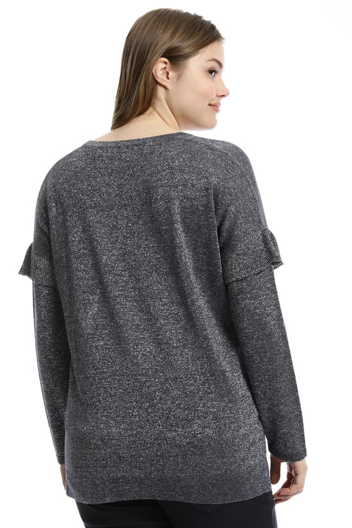 Lurex viscose sweater  Intrend