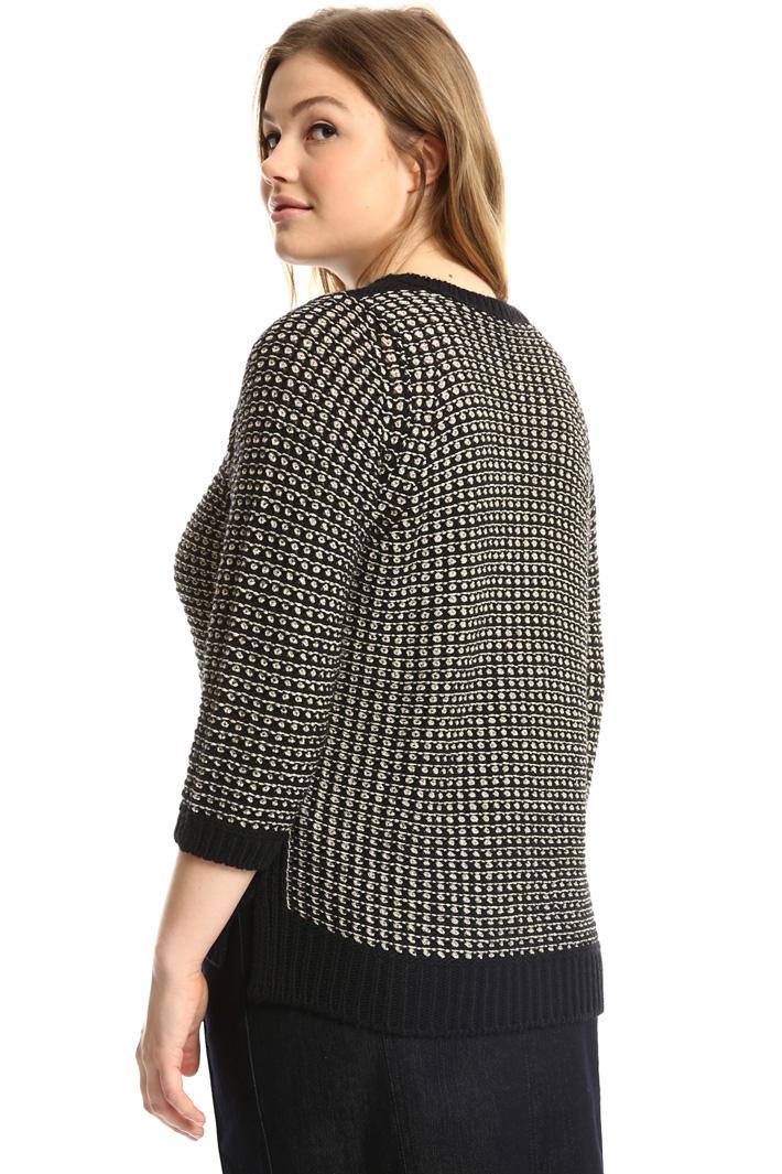 Lurex cordonnet sweater  Intrend