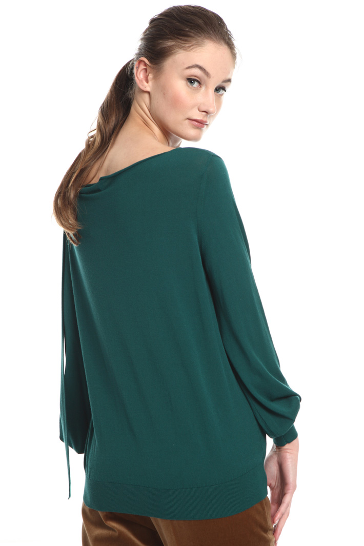 Boxy-fit viscose sweater Intrend