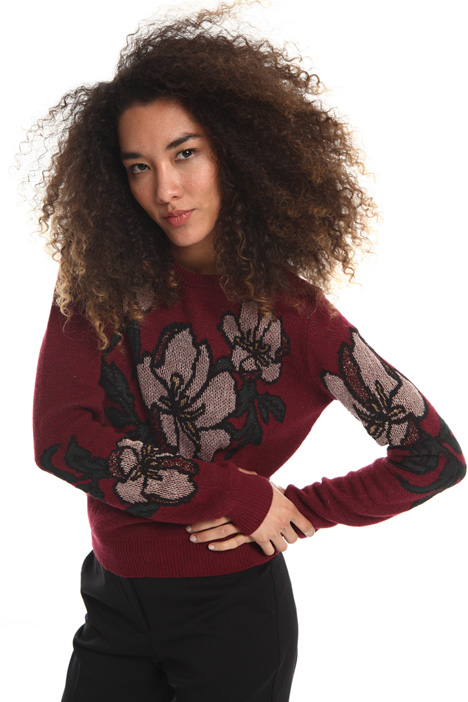 Viscose wool blend sweater Intrend