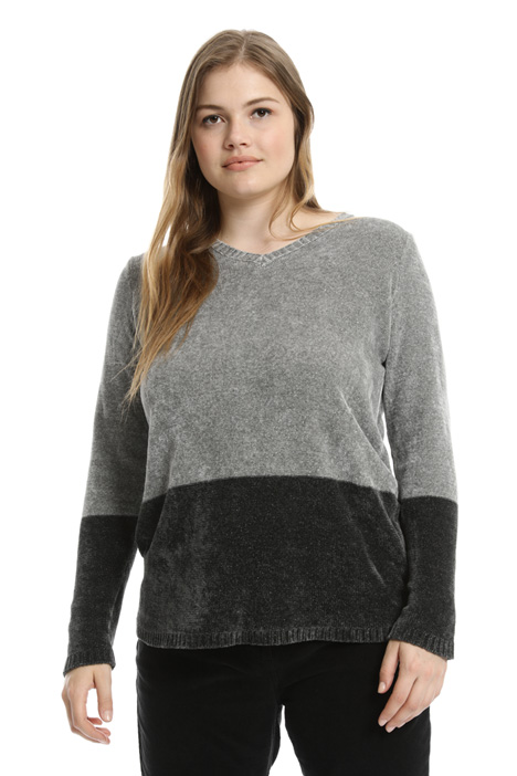 Lurex chenille sweater  Intrend