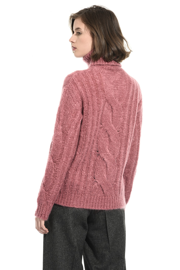 Oversized mohair sweater Intrend