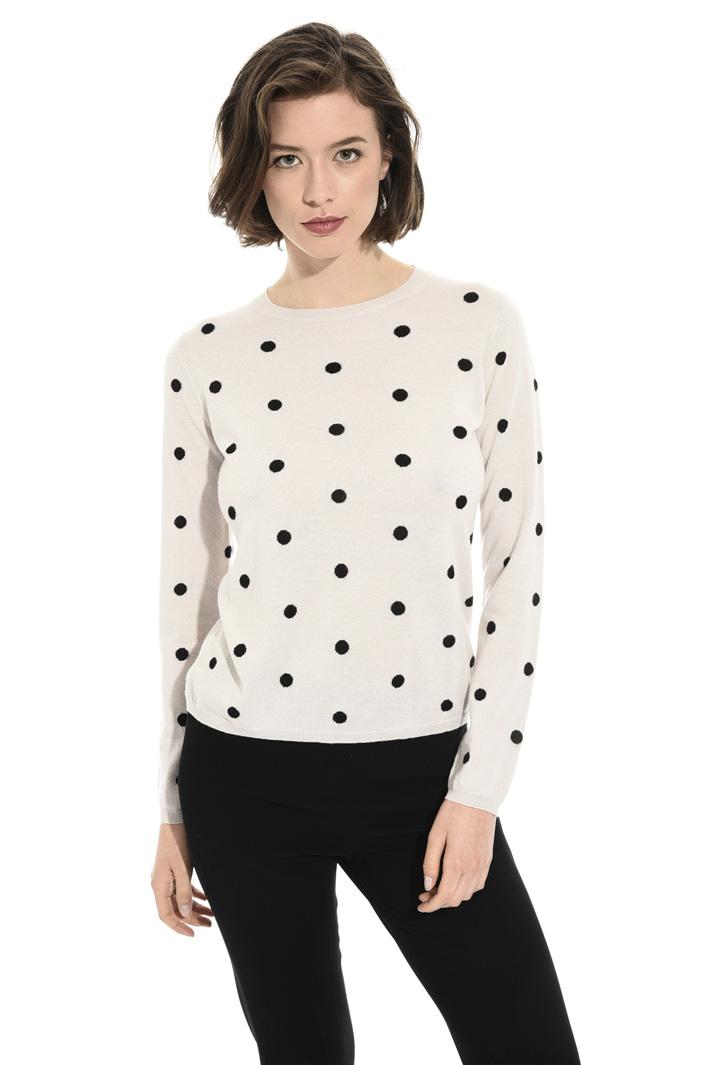 Polka-dot sweater Intrend