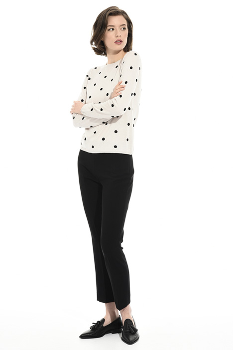 Polka-dot sweater Intrend