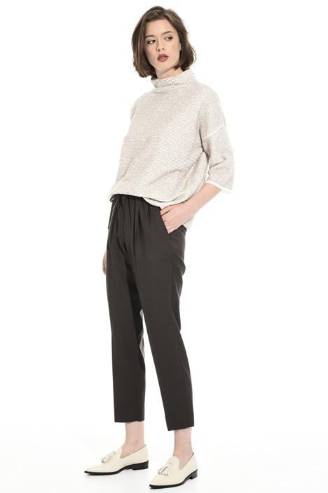 Wool tweed sweater Intrend