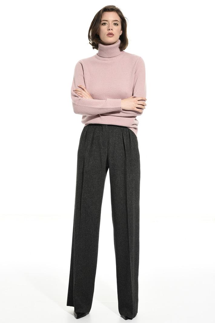 Wool blend turtleneck sweater  Intrend