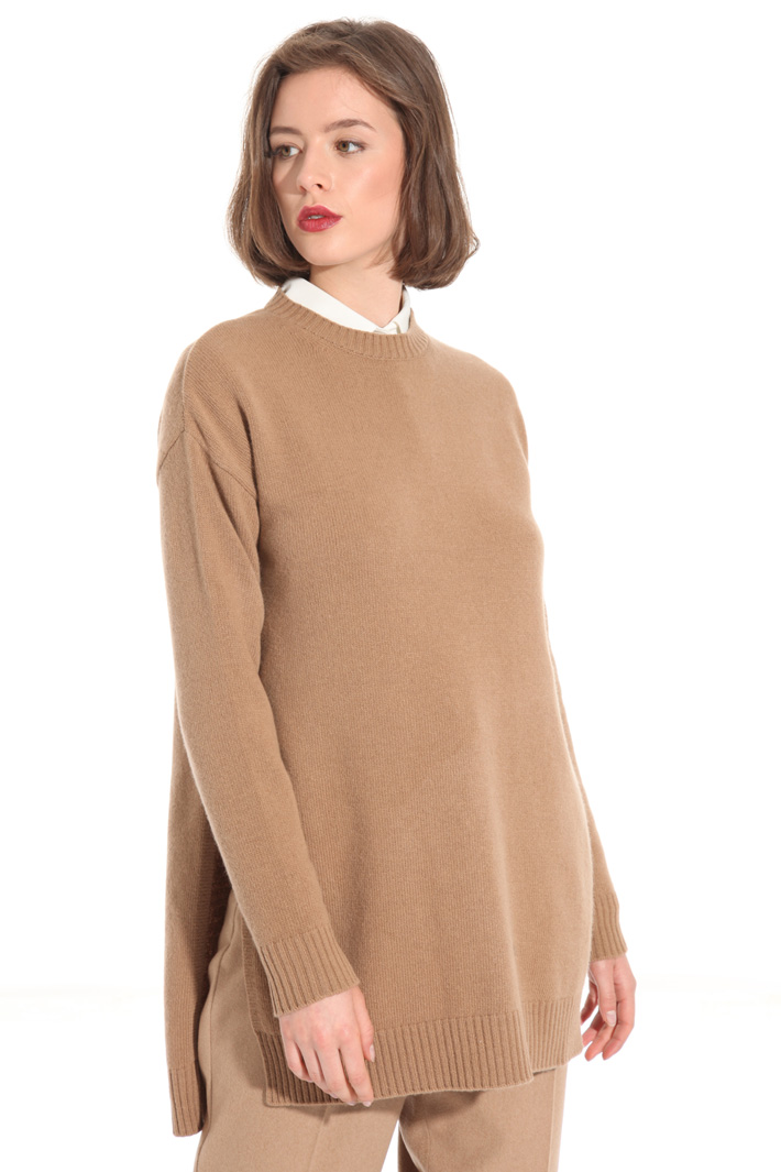 Sweater with slits Intrend