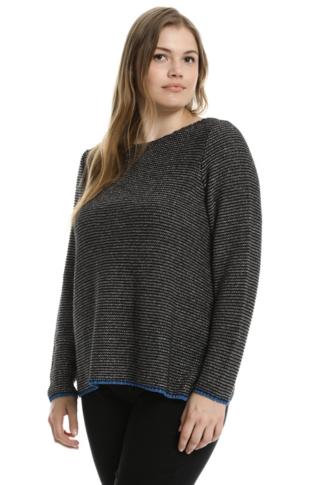 Lurex cordonnet sweater  Intrend