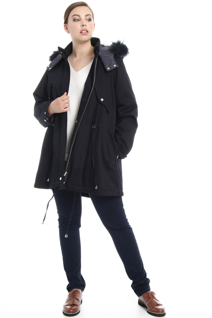 Cotton-padded parka  Intrend