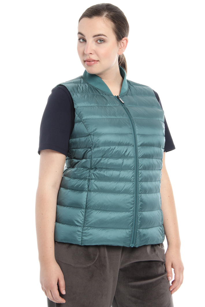 Quilted padded vest Intrend