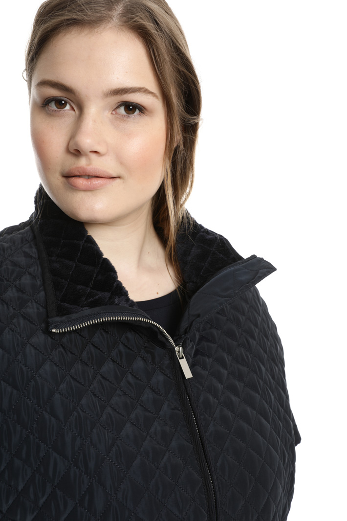 Quilted padded cape Intrend