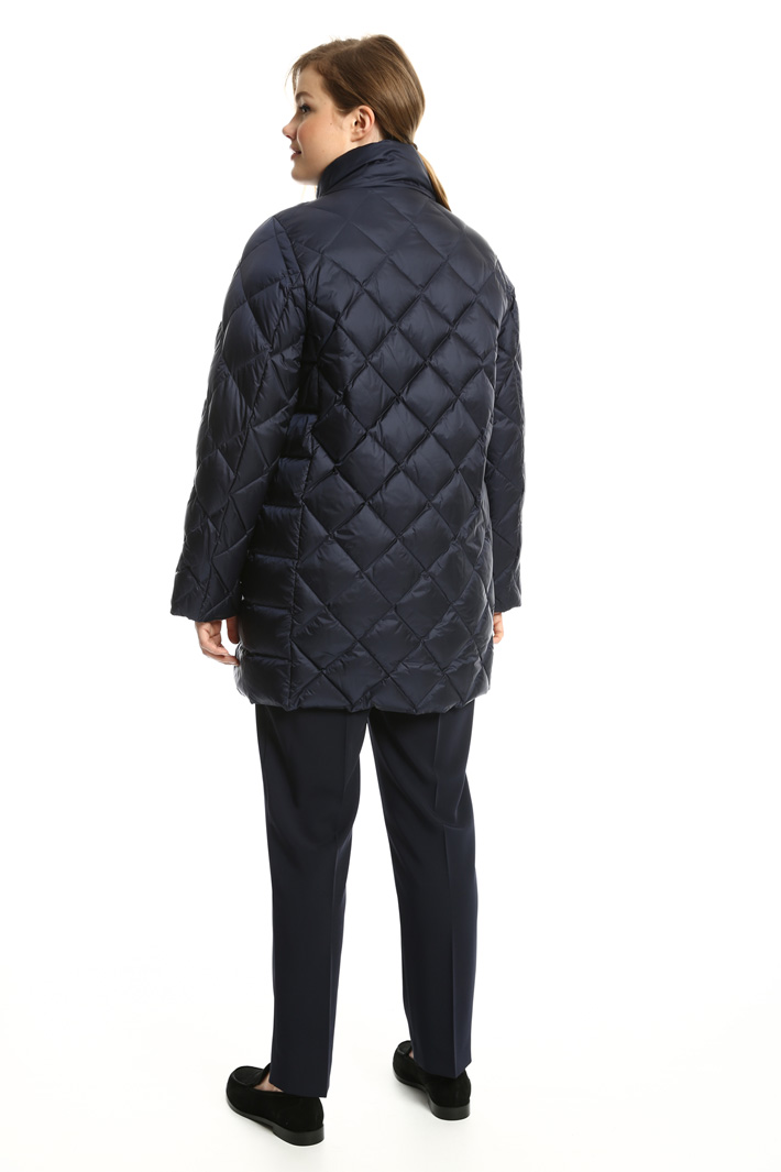 Quilted diamond pattern jacket Intrend