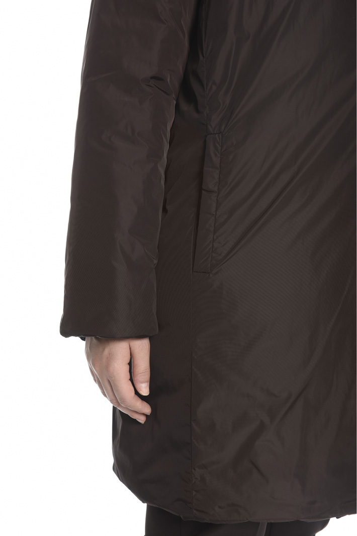 Reversible taffeta padded jacket  Intrend
