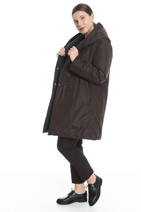 Reversible taffeta padded jacket  Intrend