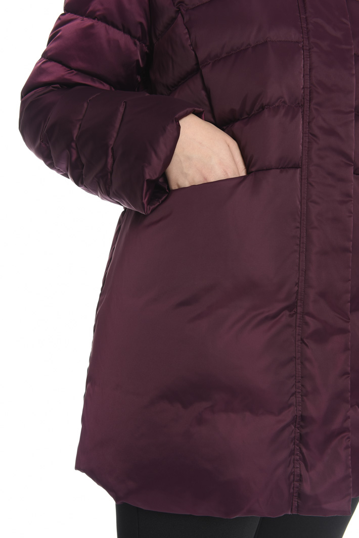 Down jacket with fur collar  Intrend