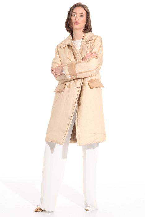 Organza puffer coat Intrend