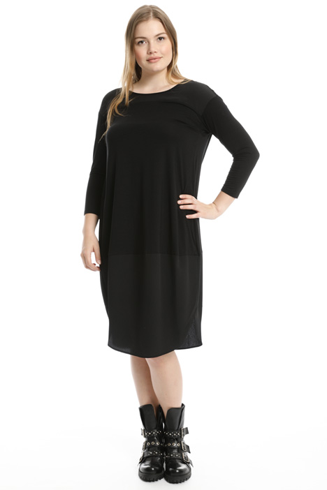 Egg-shaped jersey dress Intrend