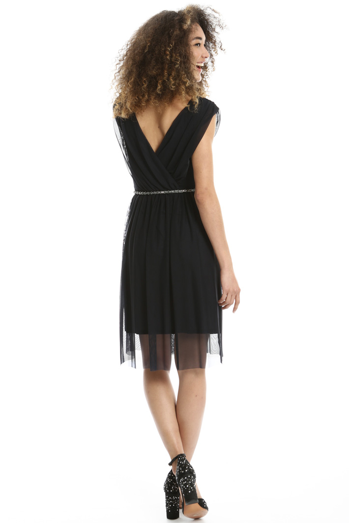 Stretch tulle dress Intrend