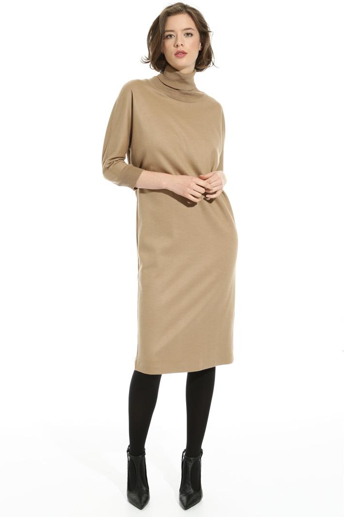 Wool jersey dress Intrend