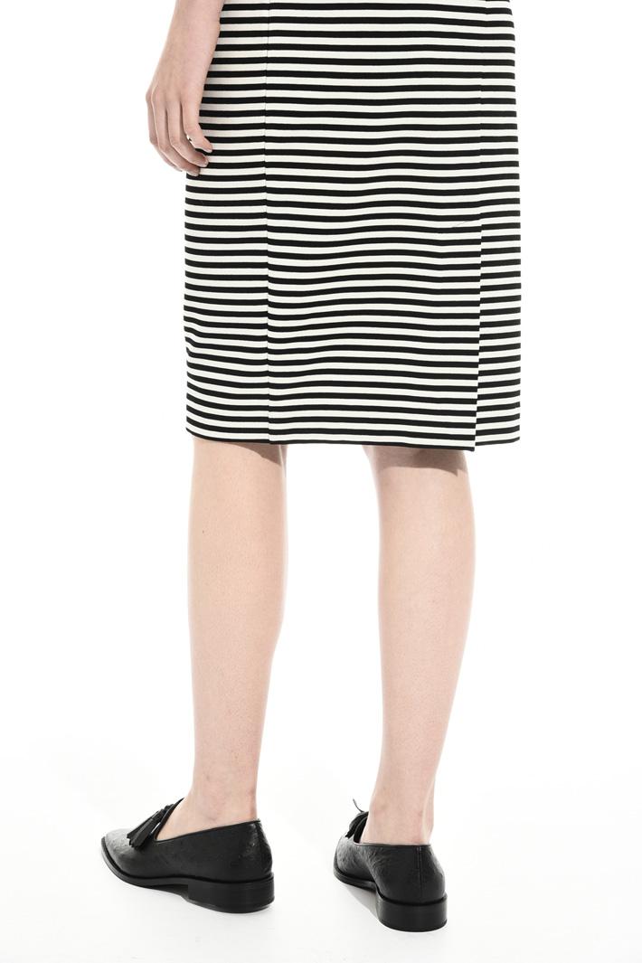 Knee-length jersey dress Intrend