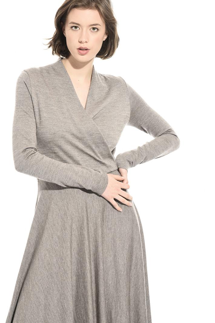 Pique jersey dress Intrend