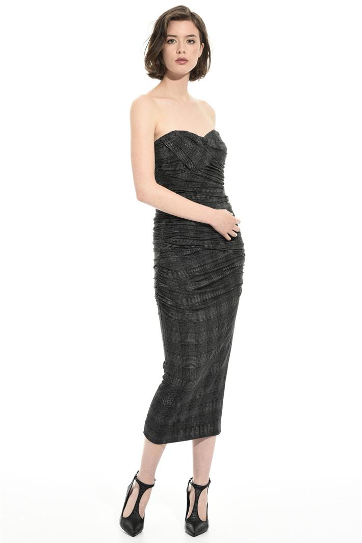 Longuette bustier dress Intrend