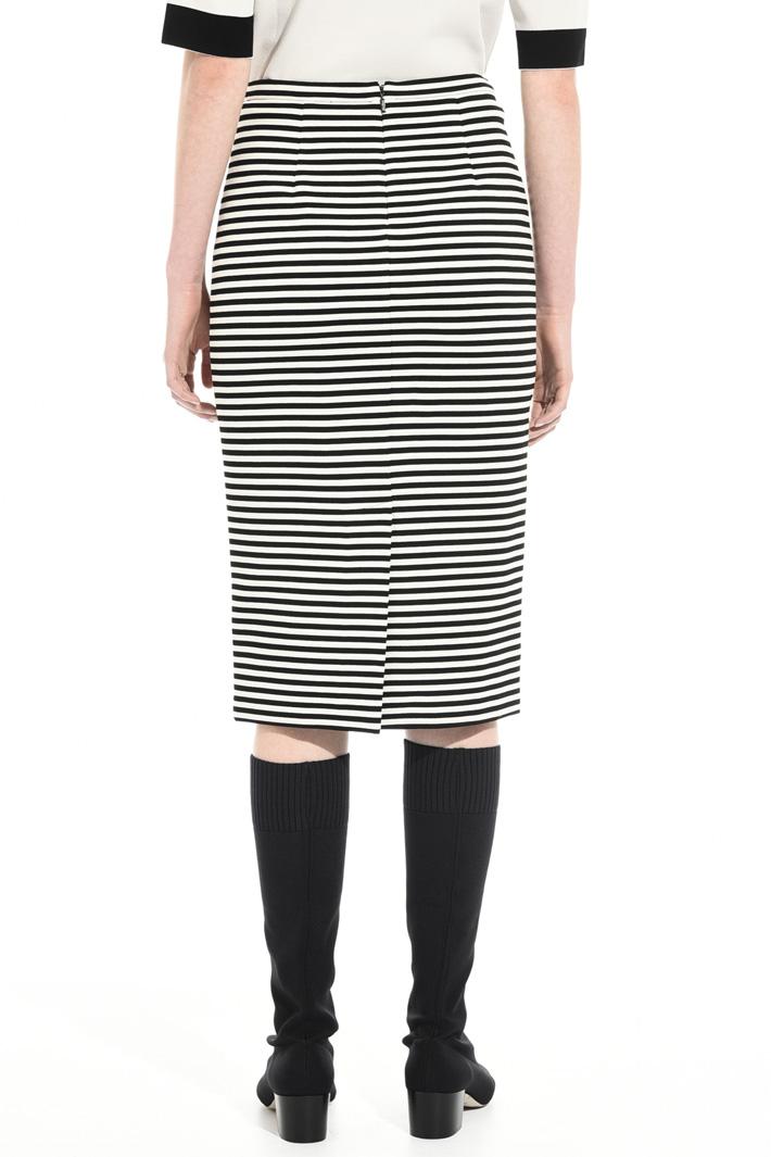 Striped jersey skirt Intrend