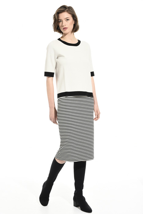 Striped jersey skirt Intrend