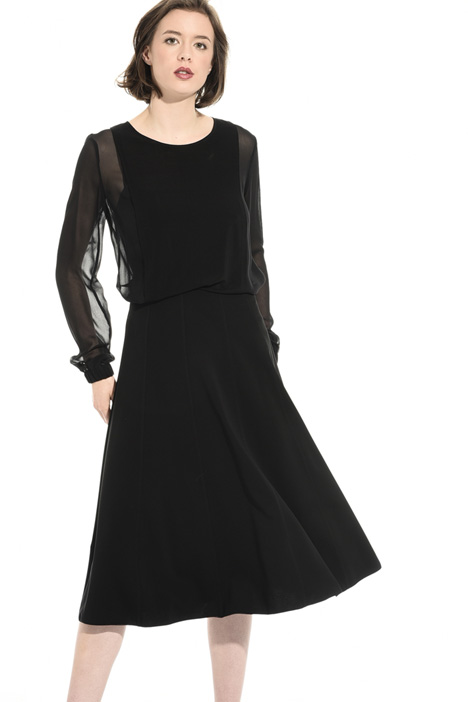 Midi skirt in viscose jersey Intrend