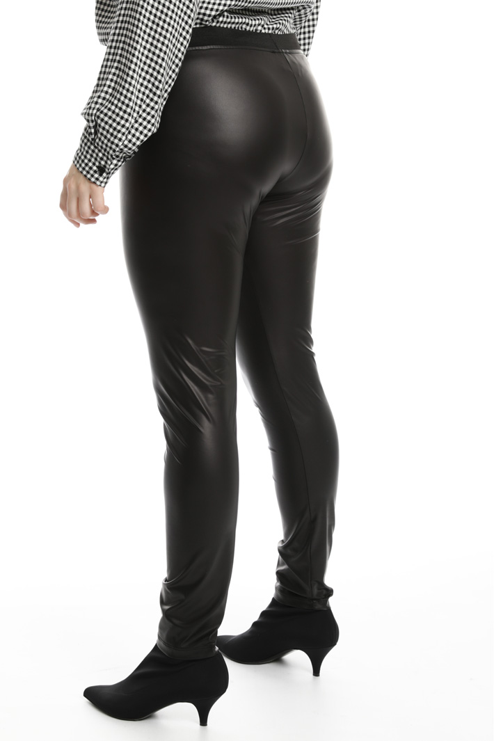 Leather effect leggings Intrend