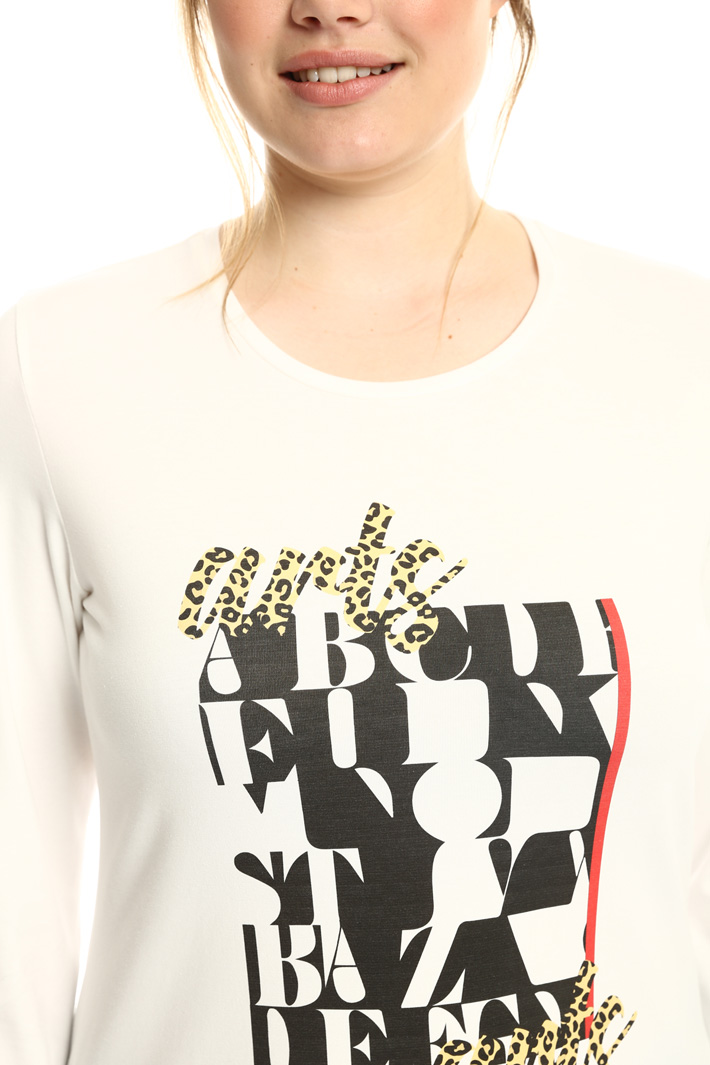 T-shirt with graphic print Intrend