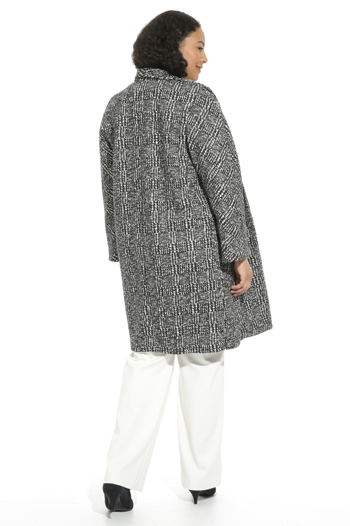 Yarn-dyed jersey coat Intrend