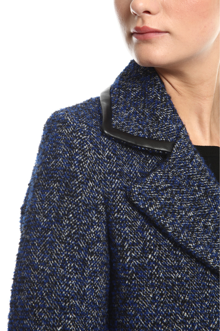 Bouclé wool coat Intrend