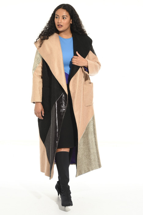Mohair and lurex coat Intrend