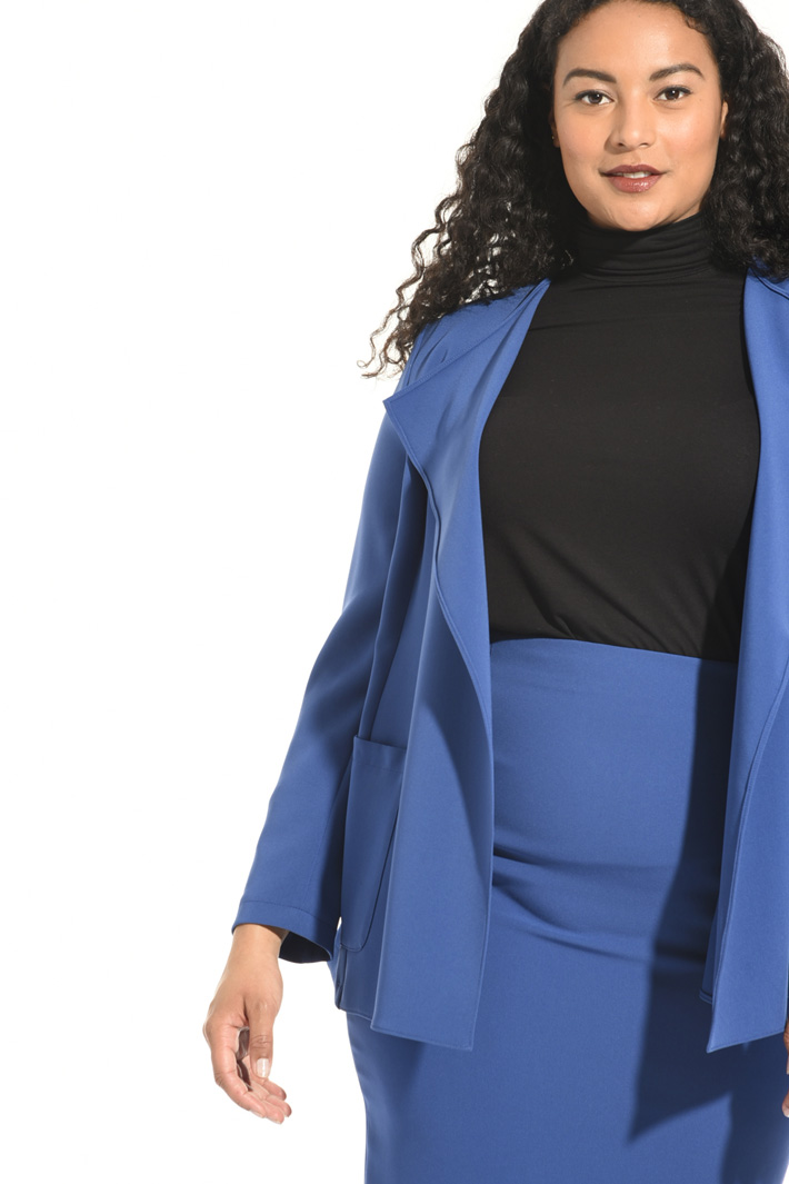 Unlined triacetate jacket Intrend