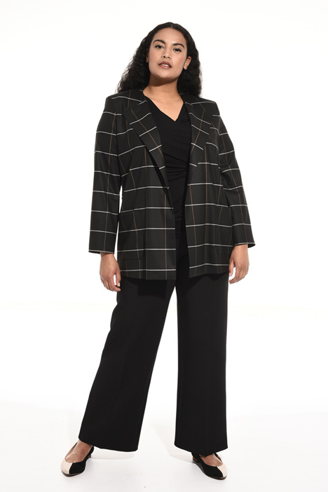 Jacquard wool jacket Intrend
