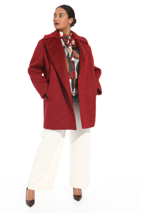 Cappotto in mohair Intrend