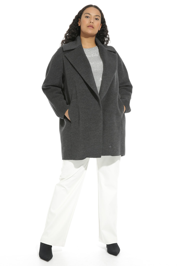 Maxi lapel coat Intrend