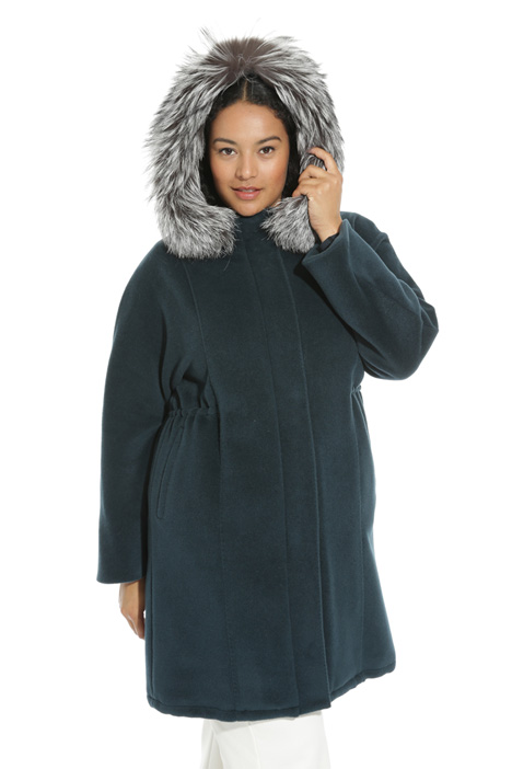 Wool beaver parka coat Intrend