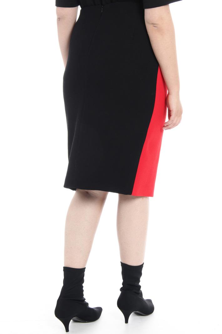Studded wool skirt Intrend
