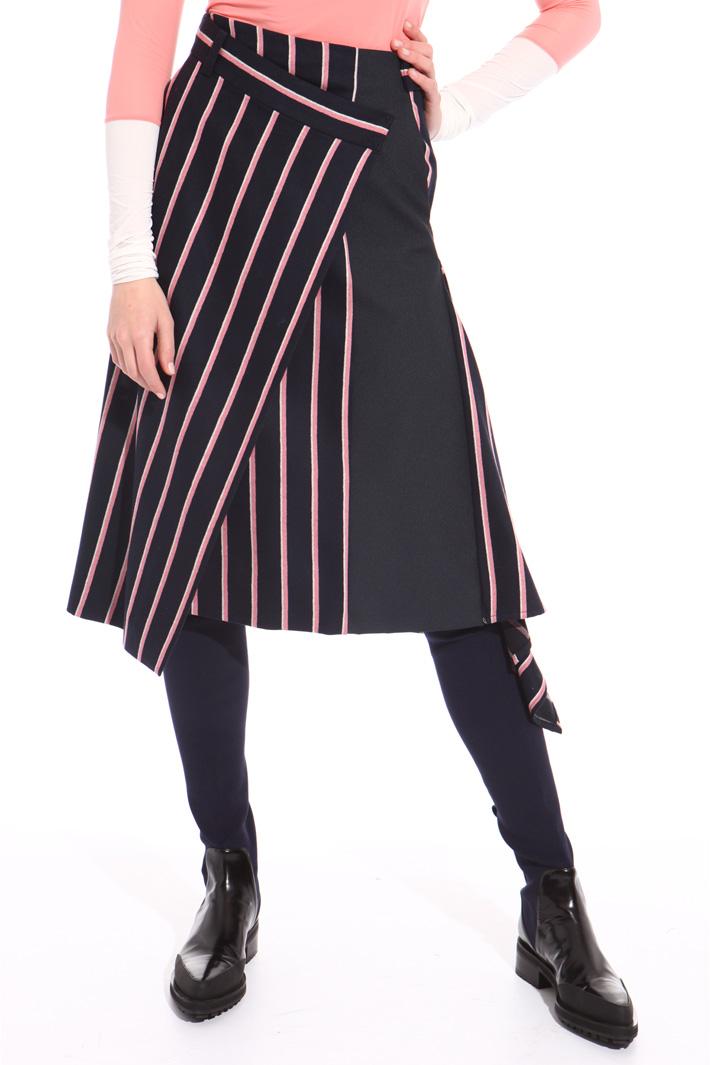 Asymmetrical wrap skirt Intrend