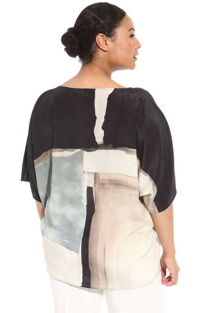 Silk tunic Intrend