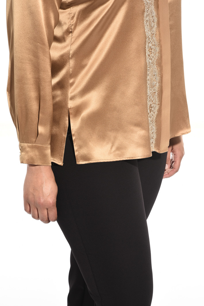 Silk satin shirt Intrend