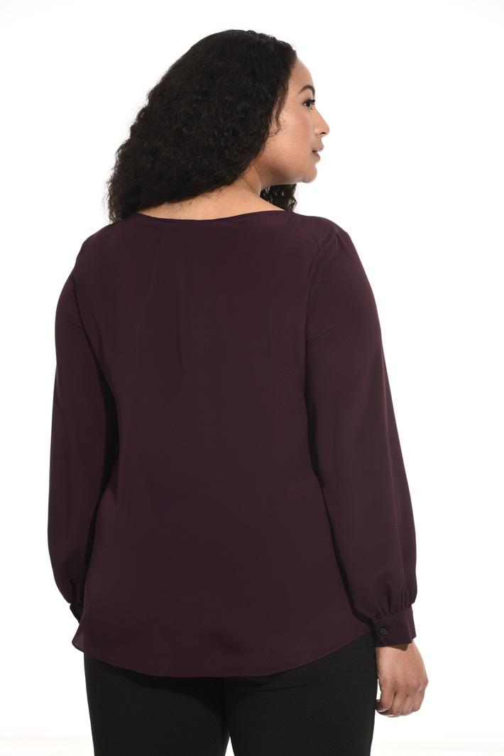 Silk blend tunic Intrend