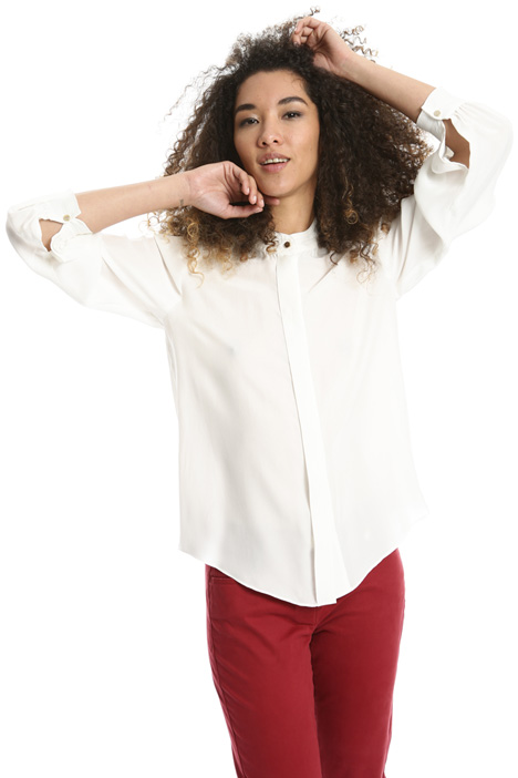 Band collar shirt Intrend