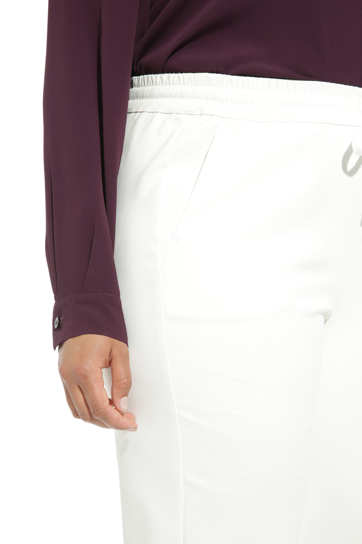 Elastic waist trousers Intrend