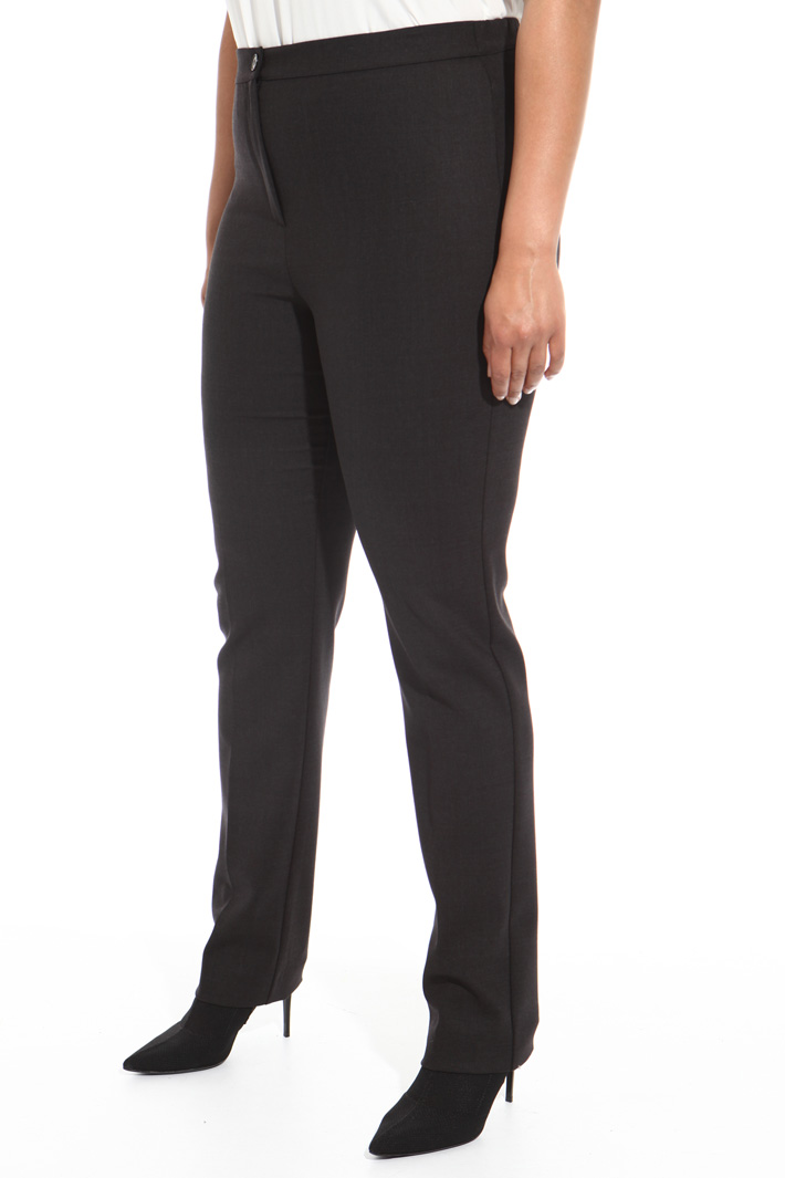 Double wool trousers Intrend