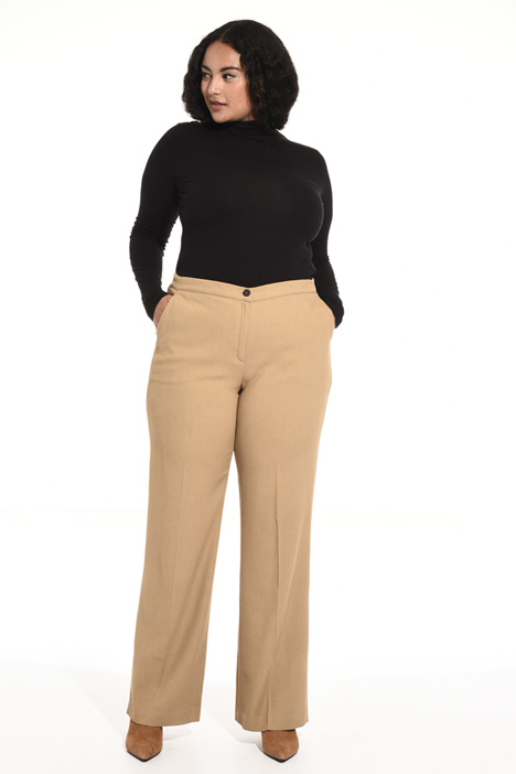 Viscose and wool trousers Intrend