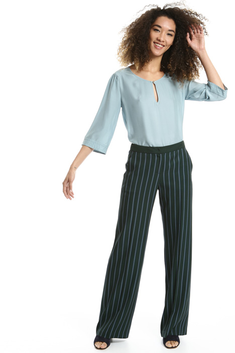 Striped palazzo trousers Intrend